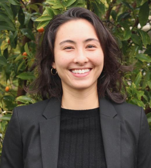Amanda, student in the Master of Science in Environmental Policy and Management at the University of California, Davis.