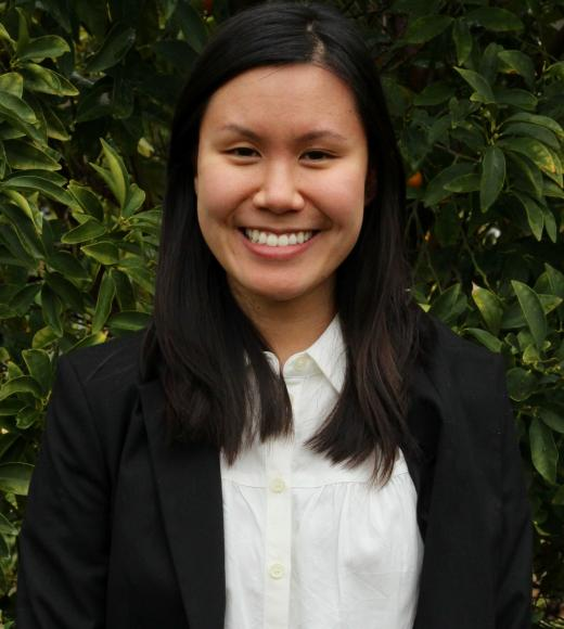 Tiffany, a student in the Master of Science in Environmental Policy and Management at the University of California, Davis.