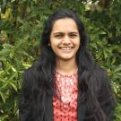 Priya, a student in the Master of Science in Environmental Policy and Management program at UC Davis.